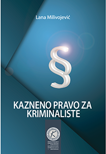 Nova knjiga – Kazneno pravo za kriminaliste