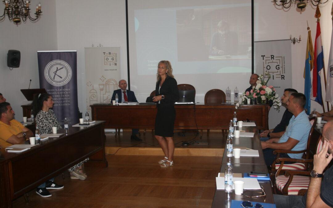 Održano predavanje na temu: Taktike vođenja kriminalističkog intervjua s naglaskom na strateško korištenje dokaza