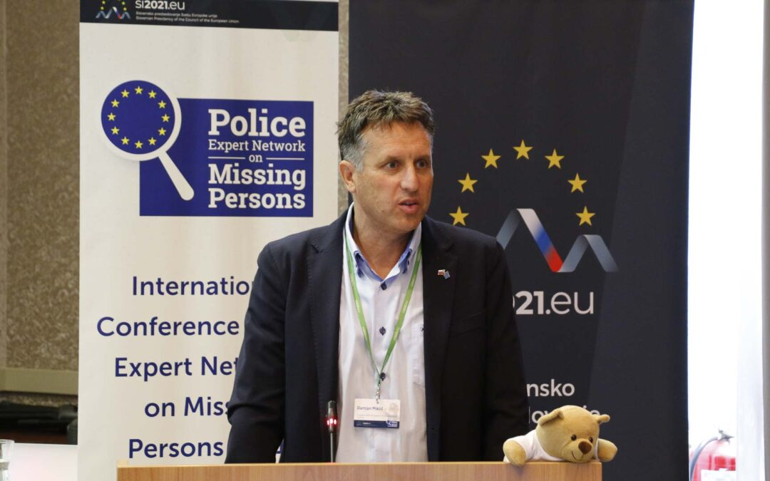 Member of ICA Damjan Miklič as a President of the European PEN-MP participated on the International Police Expert Network on Missing Persons Conference held in Ljubljana
